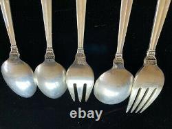 Royal Danois Par International Sterling Silver 72 Pièces Service Pour 12 Personnes