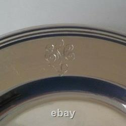 Set/12 International Lord Saybrook Sterling Silver 6 Assiettes Pain & Beurre