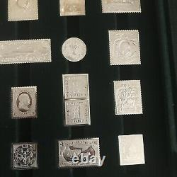 Silver Proofs Of Worlds Greatest Timbres International Society Of Postmasters