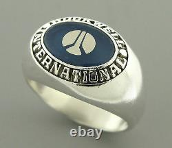 Tiffany & Co. Sterling Silver Nasa Rockwell International Ring Taille 9,5