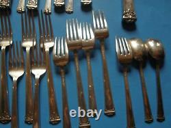 Trianon Par International Sterling Silver Flatware Set 12 Service 115 Pièces