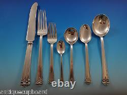 Trianon Par International Sterling Silver Flatware Set 12 Service 87 Pcs Dinner