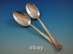 Trianon Par International Sterling Silver Flatware Set Dinner Service 44 Pièces
