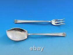 Trianon Par International Sterling Silver Flatware Set For 12 Service 94 Pieces