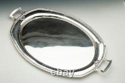Trianon Par International Sterling Silver Grand Serveur Ou Plateau De Service 19 X 31