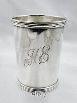 Vintage International Argent Sterling Argent Sterling Mint Julep Cup Avec Mono