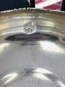 Vintage International Barbour Sterling Silver Grand Bol Orné 56.4oz