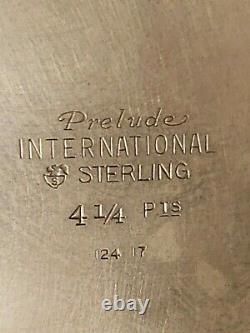Vintage International Prélude Argent Sterling 4 1/4 Pitcher D'eau Pinte