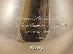 Vintage International Prelude Sterling Silver Water Pitcher 4 1/4 Pinte Inscrit