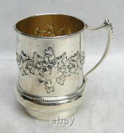 Vintage International Sterling Silver 3 Coffee Cup / Tasse