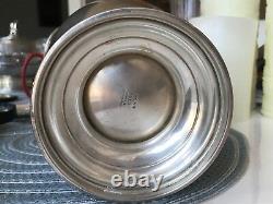 Vintage International Sterling Silver E74 Water Pitcher 4.25 Pinte