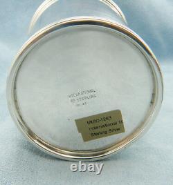 Vintage Solid Sterling Silver Derby Mint Julep Cup Par International 101, No Mono