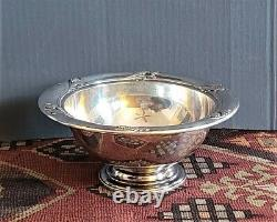 Vntg International Sterling Silver Glory Footed Bowl 6.2 Oz Scrap Ou Non