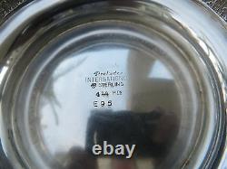 Vtg Large International Sterling 925 Prélude Patten Pitcher 4 1/4 Pts Ex 721 Gr