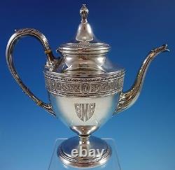 Wedgwood De L'international Sterling Silver Tea Set 5pc (#1640)