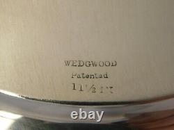 Wedgwood Par International Sterling Silver Charger Plates Ensemble De 12 #h458